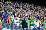 Kerry fans  celebrate after winning the All-Ireland Football Final against Donegal in Croke Park 2014.<br /> Photo: Don MacMonagle<br /> <br /> <br /> Photo: Don MacMonagle <br /> e: info@macmonagle.com