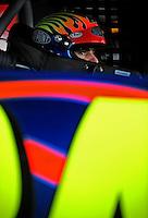 Sept. 20, 2008; Dover, DE, USA; Nascar Sprint Cup Series driver Jeff Gordon during practice for the Camping World RV 400 at Dover International Speedway. Mandatory Credit: Mark J. Rebilas-