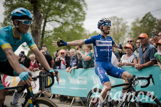 Julian ALAPHILIPPE (FRA/Deceuninck-Quick Step) wins the 83rd La Flèche Wallonne 2019 (1.UWT)<br /> One day race from Ans to Mur de Huy (BEL/195km)<br /> <br /> ©kramon