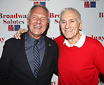 Walter Bobbie & Dick Latessa attending the 'Broadway Salutes' honoring those who make Broadway Great at the Timers Square Visitors Center in Times Square,  New York City on 9/20/2012.