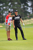 Thomas Pieters (BEL) on the 1st fairway during Round 1 of the D+D Real Czech Masters at the Albatross Golf Resort, Prague, Czech Rep. 31/08/2017<br /> Picture: Golffile | Thos Caffrey<br /> <br /> <br /> All photo usage must carry mandatory copyright credit     (&copy; Golffile | Thos Caffrey)
