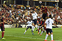 Kennesaw, GA - July 10, 2019. Atlanta United FC defeated St. Louis FC, 2-0, in the quarterfinals of the Lamar Hunt U.S. Open Cup at Fifth Third Bank Stadium on the campus of Kennesaw State University.