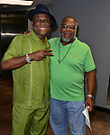 MIAMI, FL - MAY 29: Michael Colyar and Carl Sams backstage at the 9th Annual Memorial Weekend Comedy Festival at James L Knight Center on May 29, 2016 in Miami, Florida. ( Photo by Johnny Louis / jlnphotography.com )