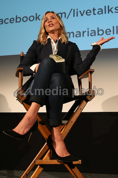 05 May 2015 - Santa Monica, California - Maria Bello attends Live Talks Los Angeles In Conversation with Camryn Manheim at the Aero Theater. Photo Credit: F. Sadou/AdMedia