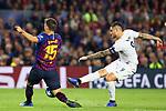 UEFA Champions League 2018/2019 - Matchday 3.<br /> FC Barcelona vs FC Internazionale Milano: 2-0.<br /> Clement Lenglet vs Mauro Icardi.