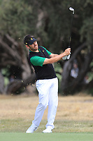 Louis Oosthuizen (International) on the 1st fairway during the Second Round - Foursomes of the Presidents Cup 2019, Royal Melbourne Golf Club, Melbourne, Victoria, Australia. 13/12/2019.<br /> Picture Thos Caffrey / Golffile.ie<br /> <br /> All photo usage must carry mandatory copyright credit (© Golffile | Thos Caffrey)