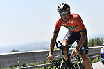 Vimcenzo Nibali (ITA) Bahrain-Merida recons the course before Stage 21 the final stage of the 2019 Giro d'Italia, an individual time trial running 17km from Verona to Verona, Italy. 2nd June 2019<br /> Picture: Fabio Ferrari/LaPresse | Cyclefile<br /> <br /> All photos usage must carry mandatory copyright credit (© Cyclefile | Fabio Ferrari/LaPresse)