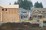 Building New Homes in Subdivision
