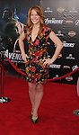 HOLLYWOOD, CA - APRIL 11: Katie Leclerc attends the World premiere of 'Marvel's Avengers' at the El Capitan Theatre on April 11, 2012 in Hollywood, California.
