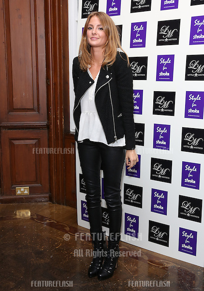 Millie Mackintosh arriving for the Style for Stroke Party, 5 Cavendish Square, London. 02/10/2012 Picture by: Henry Harris  / Featureflash