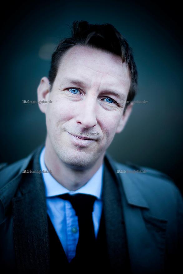 Oslo, Norge, 26.10.2012. Asle Toje (født 16. februar 1974) er norsk utenrikspolitisk forsker og kommentator. Foto: Christopher Olssøn.