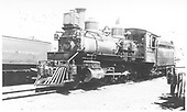 Left 3/4 view of locomotive.<br /> D&amp;RGW  Salida, CO  Taken by Perry, Otto C. - 6/23/1929