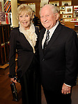 Joanne King Herring and Bud Hagner at a special evening in honor of Alley Theatre's Wild Things at the Louis Vuitton store in The Galleria Wednesday Sept. 30,2015.(Dave Rossman photo)