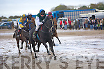 DERBY WINNER: Sandy Port ridden by Darragh Lordan leads the field during the Asdee Derby on Sunday at the Races.