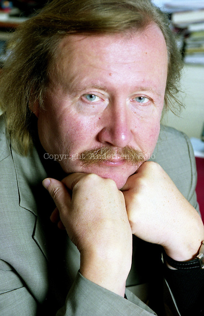 Peter Sloterdijk german philosopher at home