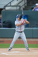 Stephen Perez (4) of the Potomac Nationals at bat against the Winston-Salem Dash at BB&T Ballpark on April 30, 2015 in Winston-Salem, North Carolina.  The Nationals defeated the Dash 5-4..  (Brian Westerholt/Four Seam Images)