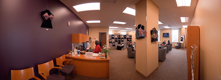 18520Womens Center Panoramic shots and candids..Chairs near window:.Susanne B. Dietzel, Director, Women's Center(red hair) and.Alicia Boards, Asst Director, Multi-Cultural Programs...Chairs Near pillar:.Logan Waldie, Erica Boehnlein.and Bobbi Napper(ohio Shirt)....At Desk: Marlene Jenkins
