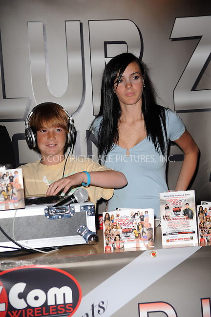 WWW.ACEPIXS.COM . . . . . ....July 30 2009, New York City....Cody Lohan and Ali Lohan attended the Blackberry Brick Breaker contest announcement event at the Z-Com wireless store on July 30, 2009 in New York City.....Please byline: KRISTIN CALLAHAN - ACEPIXS.COM.. . . . . . ..Ace Pictures, Inc:  ..tel: (212) 243 8787 or (646) 769 0430..e-mail: info@acepixs.com..web: http://www.acepixs.com