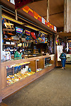 Yakama National Cultural Center Gift Shop features hand made Yakama handwork.  The interior of the store.
