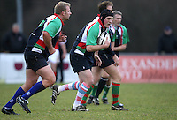 John Gunson in action during the charity match between the Ulster 1999 XV and a Wooden Spoon Select XV at Shaw's Bridge Belfast.  Mandatory Credit - Photo : John Dickson