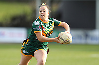 The Wyong Roos play Ourimbah Magpies in Round 15 of the Ladies League Tag Central Coast Rugby League Division at Morry Breen Oval on 27th of July, 2019 in Kanwal, NSW Australia. (Photo by Paul Barkley/LookPro)