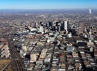 aerial photograph Denver, Colorado