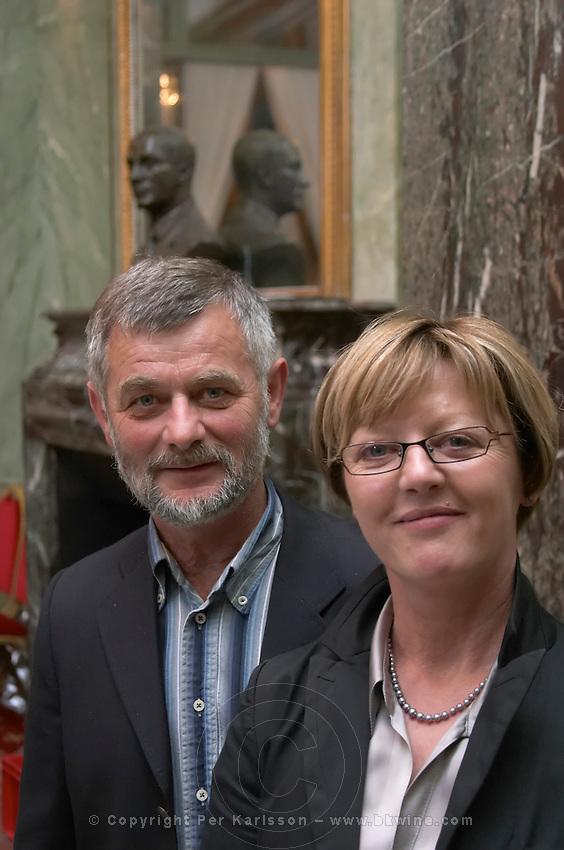 Sylvianne and Philippe Sevault, Domaine P Sevault. Loire, France