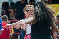 SÃO PAULO-SP-17,04,2014-PERUADA DA USP-Alunos de Direito da Universidade de São Paulo durante Peruada da USP(tradicional festa da Faculdade de Direito ).A concentração partiu do Largo do São Franscisco ao Largo do Paisandu.Região Central da cidade de São Paulo,na tarde dessa Sexta-Feira,17(Foto:Kevin David/Brazil Photo Press)