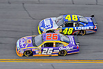 Feb 12, 2009; 2:35:50 PM; Daytona Beach, FL, USA; NASCAR Sprint Cup Series race of the Gatorade Duel at Daytona International Speedway.  Mandatory Credit: (thesportswire.net)