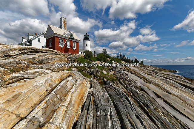 Pemaquid Point Lighthouse, Bristol, Maine, USA