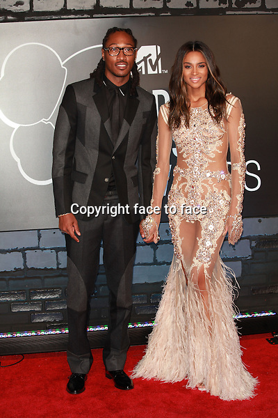 NEW YORK, NY - AUGUST 25: Future and Ciara at the 2013 MTV Video Music Awards August 25, 2013 at the Barclays Center in New York City. Credit: &Acirc;&copy; Corredor99/MediaPunch Inc.<br />