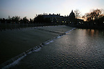 2007. Aranjuez (Madrid). Spain..River Tajo and Royal Palace..
