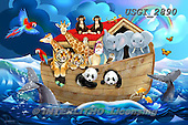 GIORDANO, CHILDREN, KINDER, NIÑOS, paintings+++++,USGI2890,#k# ,puzzle