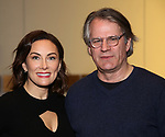 "Laura Benanti and Bartlett Sher attends the ""My Fair Lady"" Re-Opening Celebration at the Vivian Beaumont Theatre on January 27, 2019 in New York City."