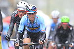 Riders including Dylan Theuns (BEL) tackle the 9 laps of the Harrogate circuit during the Men Elite Road Race of the UCI World Championships 2019 running 261km from Leeds to Harrogate, England. 29th September 2019.<br /> Picture: Eoin Clarke | Cyclefile<br /> <br /> All photos usage must carry mandatory copyright credit (© Cyclefile | Eoin Clarke)