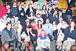 FANCY DRESS PARTY: Simone Hennessy, Rathoonane, Tralee (seated centre) celebrated her 18th birthday in the Huddle bar, Strand Rd., Tralee with a Fancy dress party with her parents, Mandy & John and many friends and family.