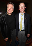 Alan Menken & Frank Feldman.Behind the Scenes at the 2012 Tony Award-Meet The Nominees Press Reception at Millennium Broadway Hotel on May 2, 2012 in New York City. © Walter McBride/WM Photography .