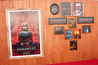 "LOS ANGELES - JUN 20:  General Atmosphere, Poster at the ""Annabelle Comes Home"" Premiere at the Village Theater on June 20, 2019 in Westwood, CA"