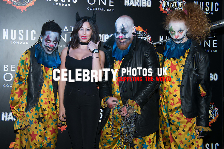 Pascal Craymer at the Opening of Shocktober at  Tulleys Farm, Surrey, UK photo by Amanda Cunningham