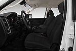 Front seat view of 2018 Ram Ram 3500 Tradesman Crew Cab Long 4 Door Pick Up front seat car photos