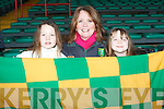 GREEN & GOLD: Showing their colours in Limerick on Sunday l-r: Hannah, Una and Maria Nix.
