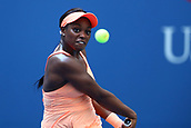 5th September 2017, Flushing Meadowns, New York, USA;  SLOANE STEPHENS (USA) during day nine match of the 2017 US Open tennis tournament on September 5, 2017, at Billie Jean King National Tennis Center in Flushing Meadow
