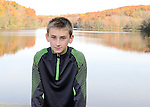 Joshua at Pocantico Lake before his December Westchester, New York Bar Mitzvah