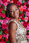 NEW YORK, NY - JUNE 10:  Nikki M. James attends the 72nd Annual Tony Awards at Radio City Music Hall on June 10, 2018 in New York City.  (Photo by Walter McBride/WireImage)