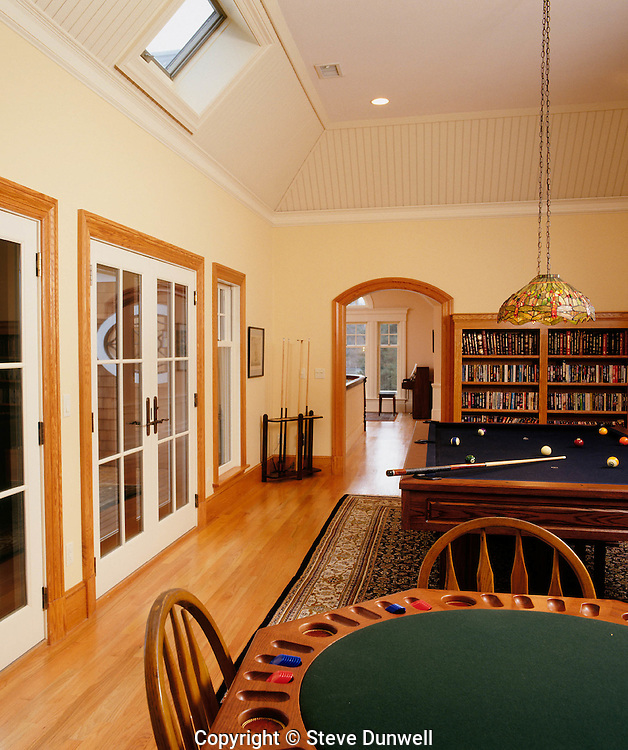 game room, Sudbury, MA
