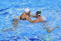 Arianna Garibotti, Silvia Avegno <br /> Italy's training <br /> Budapest 11/01/2020 Duna Arena <br /> Photo Andrea Staccioli / Insidefoto / Deepbluemedia
