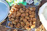 Fried Food In Market