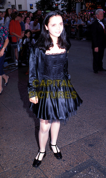 CHRISTINA RICCI.black dress.Ref: 1405.www.capitalpictures.com.sales@capitalpictures.com.© Capital Pictures