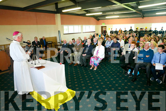 Bishop Ray Browne   celebrate a Centenary  Mass at the Austin Stack's Club in Connolly Park on  Tuesday.