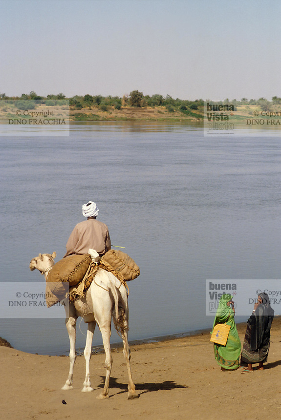 - northern Sudan, the Nile river....- Sudan settentrionale, il fiume Nilo